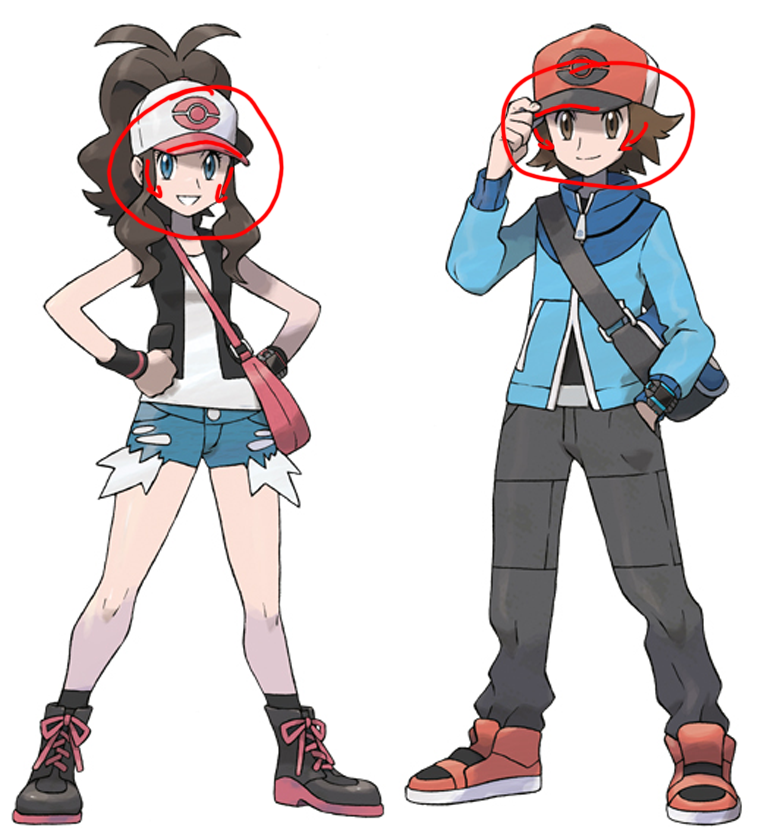Pokemon trainer line